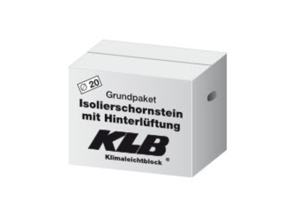 KLB-Isolierschornstein (HIS)     Dm 18cm Grundpaket